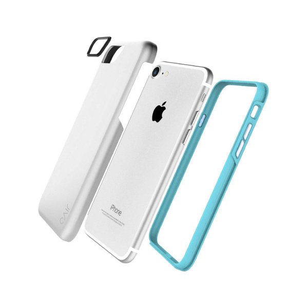 Jivo Combo- Tough Case iPhone 8/7 Silver