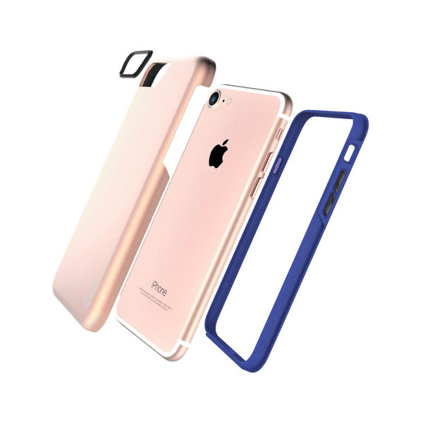 Jivo Combo- Tough Case iPhone 8/7 ROSE GOLD