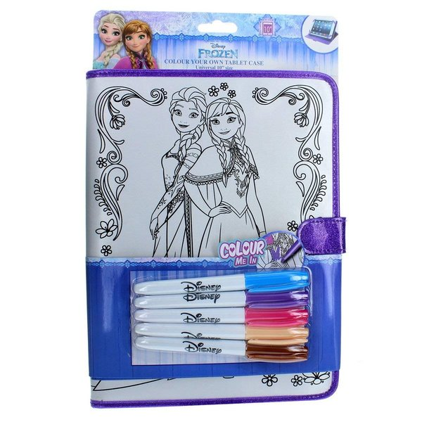 "Frozen 10"" Color-Me Case for Tablet"